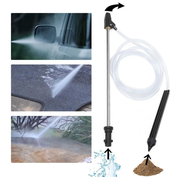 WasherBlaster™- HIGH PRESSURE WASHER WET SAND BLASTING KIT