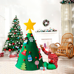 DIY Felt Christmas Tree for Toddlers