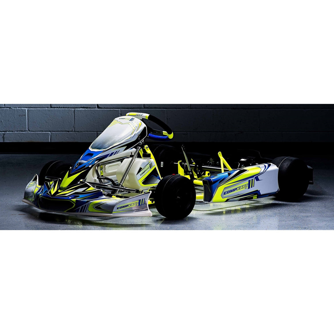 Compkart Covert 4R chassis front view