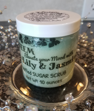 Pure Natural with Organics, Water Lily & Jasmine Sugar Scrub