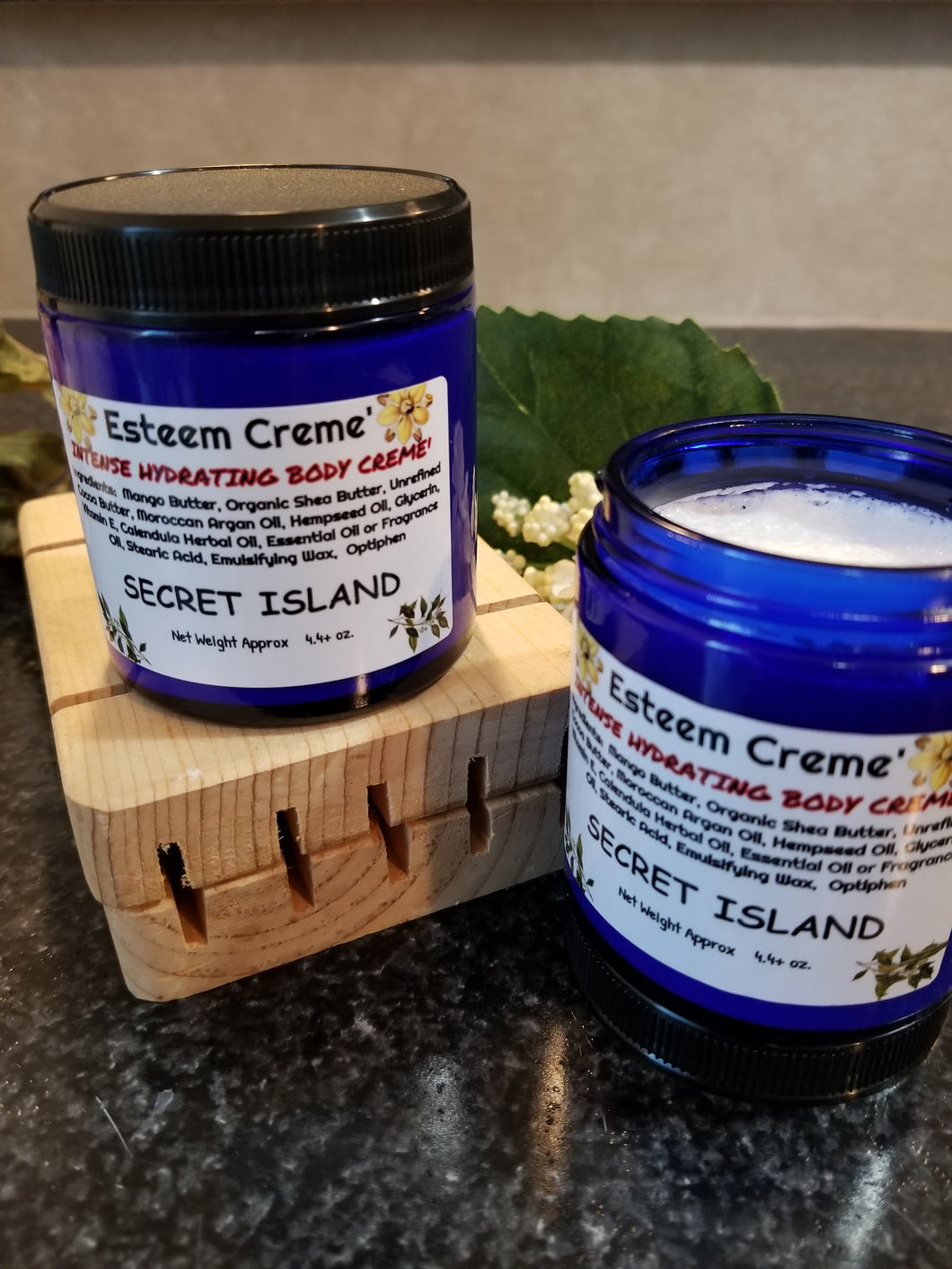 Skin Firming Hydration Body Creme, Secret Island Intense Creme , Welcome home gift, Unique Birthday present for the women