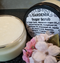Naturally Pure Gardenia Sugar Scrub, Emulsified Scrub, Full Body Polish,