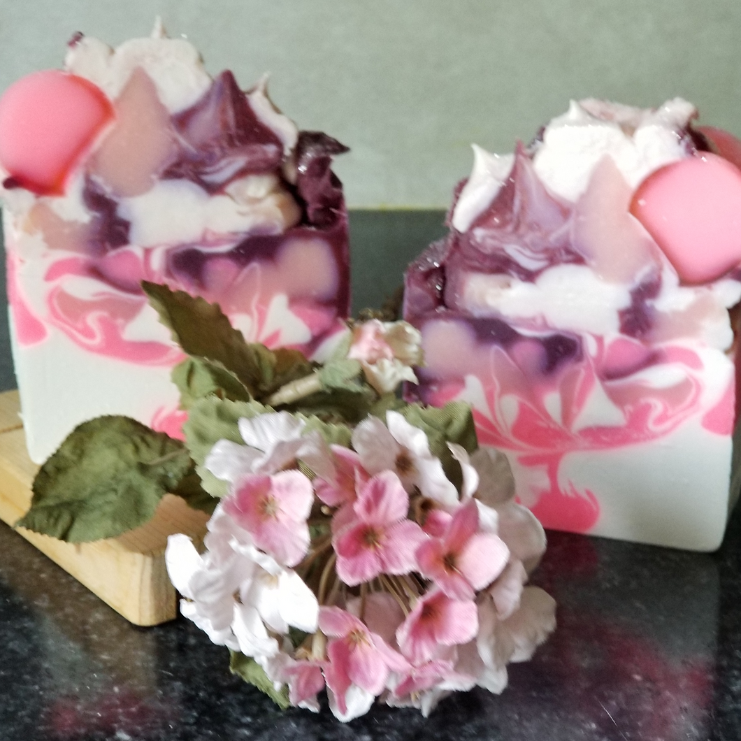 Artisan Black Raspberry and Vanilla Handcrafted Soap