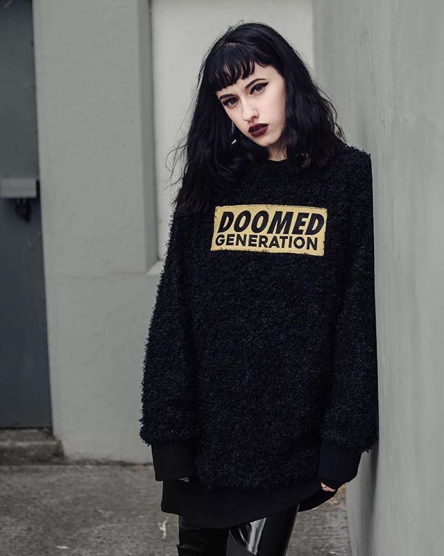 Doomed Jumper Dress