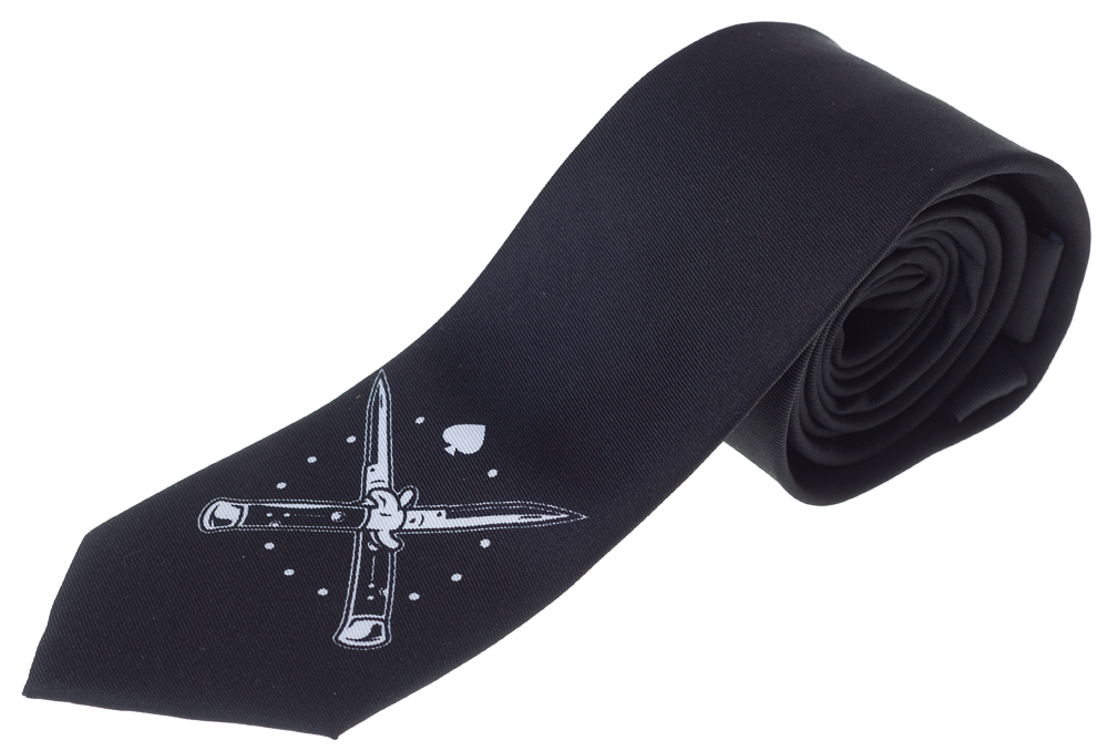 Tattooed Barber Tie