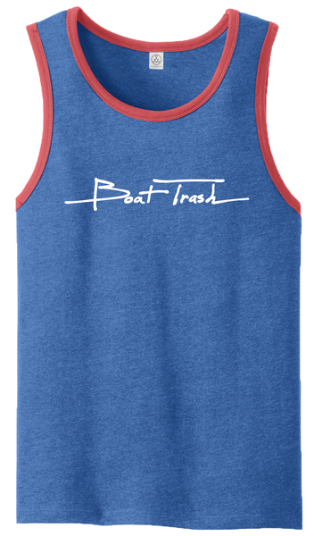 Mens Red, White, & Blue Tank