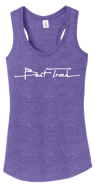 Womens Deep Purple Tank