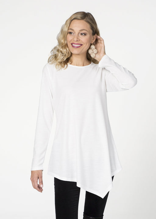 Asymmetrical French Terry Tunic