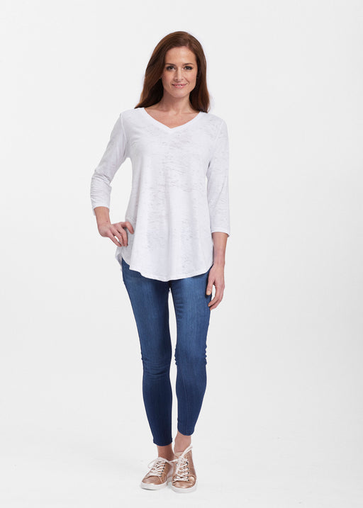 Signature V-neck Flowy Tunic