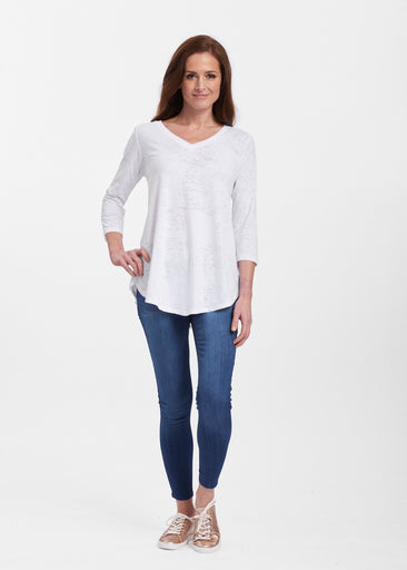 V-neck Flowy Tunic