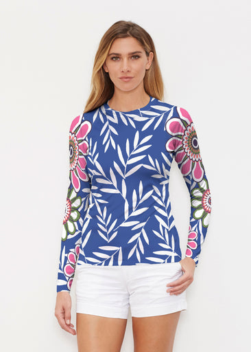 Midnight Garden (10158) ~ Long Sleeve Rash Guard