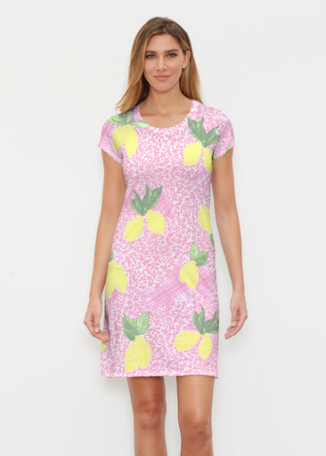 Pink Lemonade (10162) ~ Classic Crew Dress