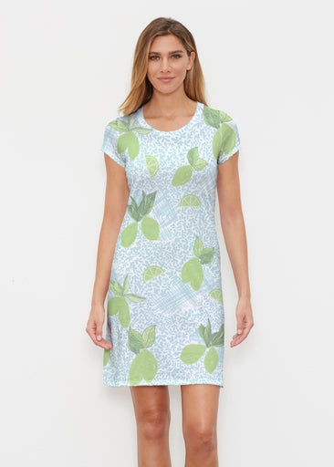 Margarita Lime (10181) ~ Classic Crew Dress