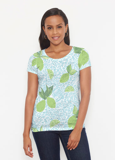 Margarita Lime (10181) ~ Short Sleeve Scoop Shirt
