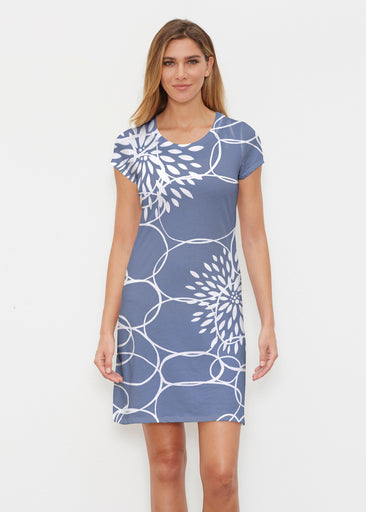 Reflection Navy (11040) ~ Classic Crew Dress