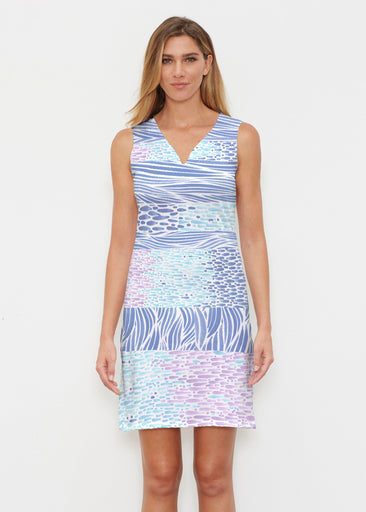 Tidal Stripe (11080) ~ Classic Sleeveless Dress