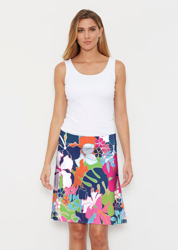 Hawaiian Resort (13020) ~ Silky Brenda Skirt