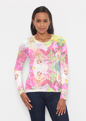 Mirage Pink (13140) ~ Signature Long Sleeve Crew Shirt
