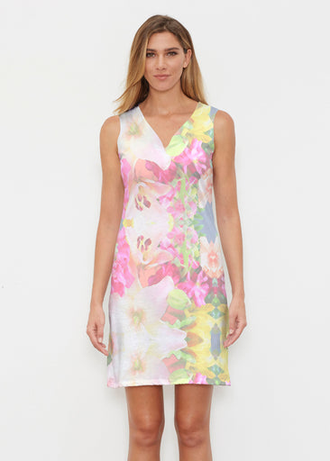 Mirage Pink (13140) ~ Classic Sleeveless Dress