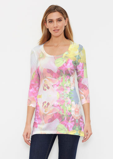 Mirage Pink (13140) ~ Buttersoft 3/4 Sleeve Tunic