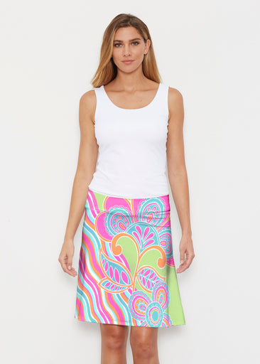 Juicy Wave (13142) ~ Silky Brenda Skirt 21 inch