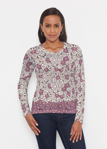 Berry Burgundy (13175) ~ Signature Long Sleeve Crew Shirt
