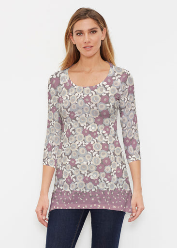 Berry Burgundy (13175) ~ Buttersoft 3/4 Sleeve Tunic