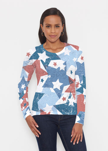 Freedom Starburst (13245) ~ Signature Long Sleeve Crew Shirt