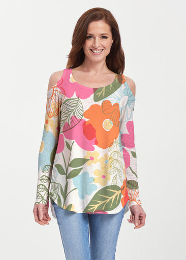 Awakening Multi (13280) ~ Cold Shoulder Tunic