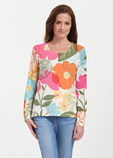 Awakening Multi (13280) ~ Texture Mix Long Sleeve