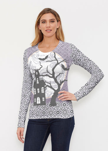 Trick or Treat (13336) ~ Thermal Long Sleeve Crew Shirt
