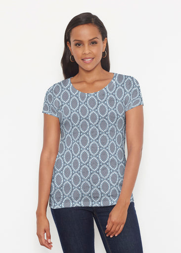 Namaste Lace (13370) ~ Short Sleeve Scoop Shirt