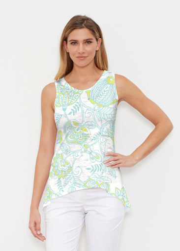 Namaste Lime (13374) ~ High-low Tank