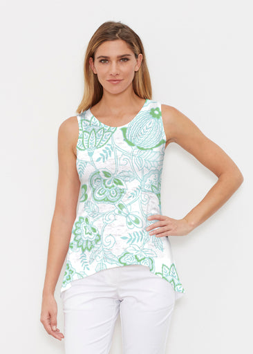 Namaste Green (13375) ~ High-low Tank