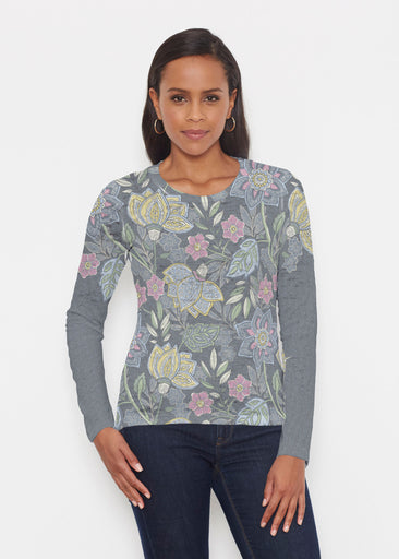 Isabellas Garden (13410) ~ Signature Long Sleeve Crew Shirt