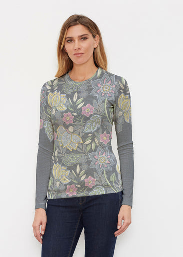 Isabellas Garden (13410) ~ Butterknit Long Sleeve Crew Top