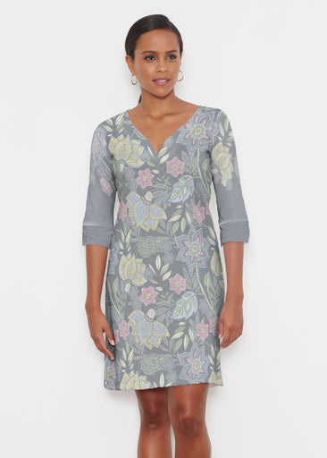 Isabellas Garden (13410) ~ Classic 3/4 Sleeve Sweet Heart V-Neck Dress
