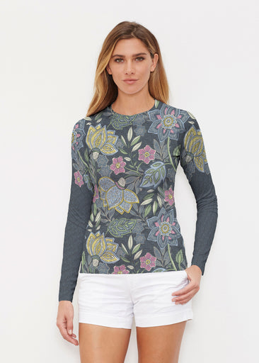 Isabellas Garden (13410) ~ Long Sleeve Rash Guard