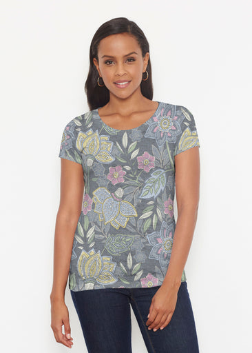 Isabellas Garden (13410) ~ Short Sleeve Scoop Shirt