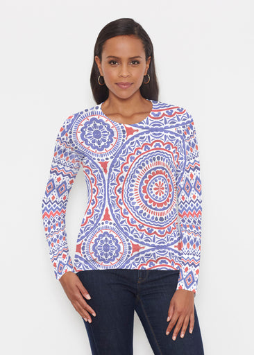 Kaleidoscope RWB (13412) ~ Signature Long Sleeve Crew Shirt