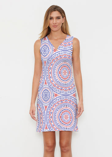 Kaleidoscope RWB (13412) ~ Classic Sleeveless Dress