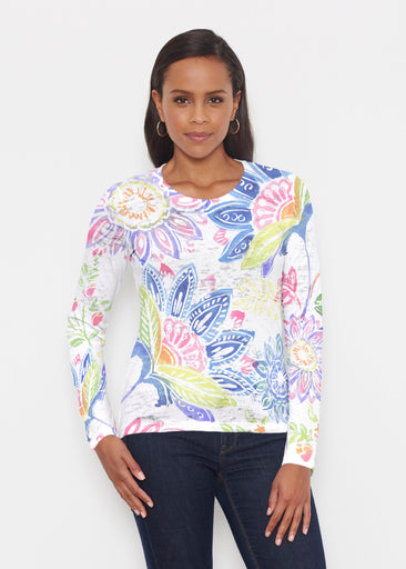 Summertime (13421) ~ Signature Long Sleeve Crew Shirt