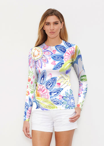 Summertime (13421) ~ Long Sleeve Rash Guard