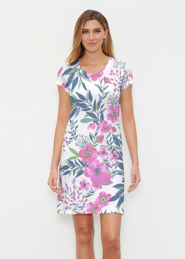 Summer Floral (13423) ~ Classic Crew Dress