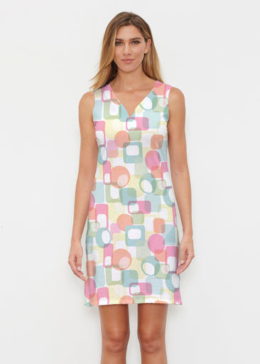 Mandala Geo (13495) ~ Classic Sleeveless Dress