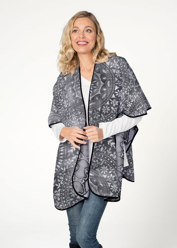 Medallion Python (13501) ~ Reversible Sweater Fleece Blanket Wrap