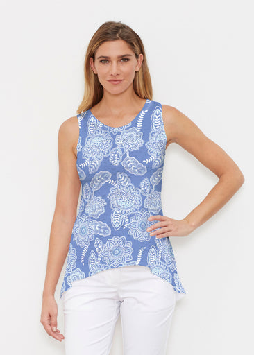 Floral Sunshine (13533) ~ High-low Tank