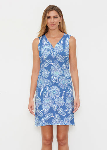 Floral Sunshine (13533) ~ Vivid Sleeveless Dress