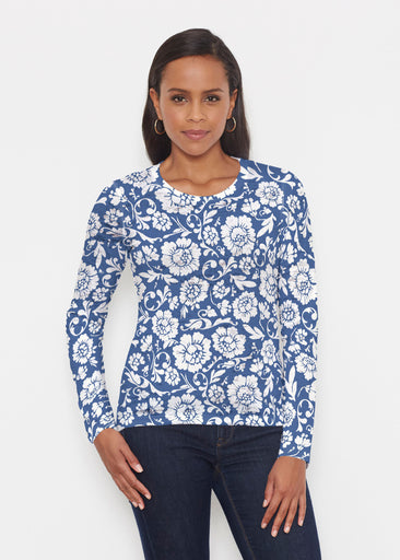 Traditional Navy (14135) ~ Signature Long Sleeve Crew Shirt