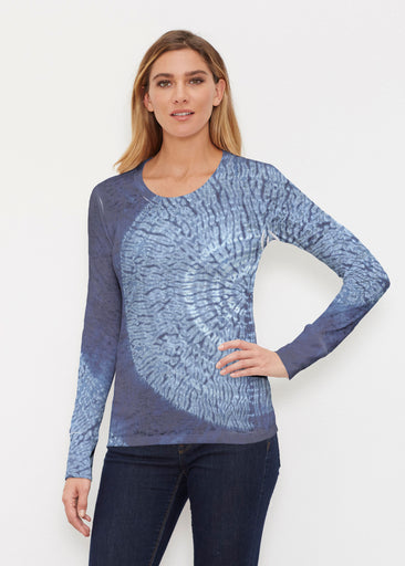 Dandelion Dream (14169) ~ Thermal Long Sleeve Crew Shirt